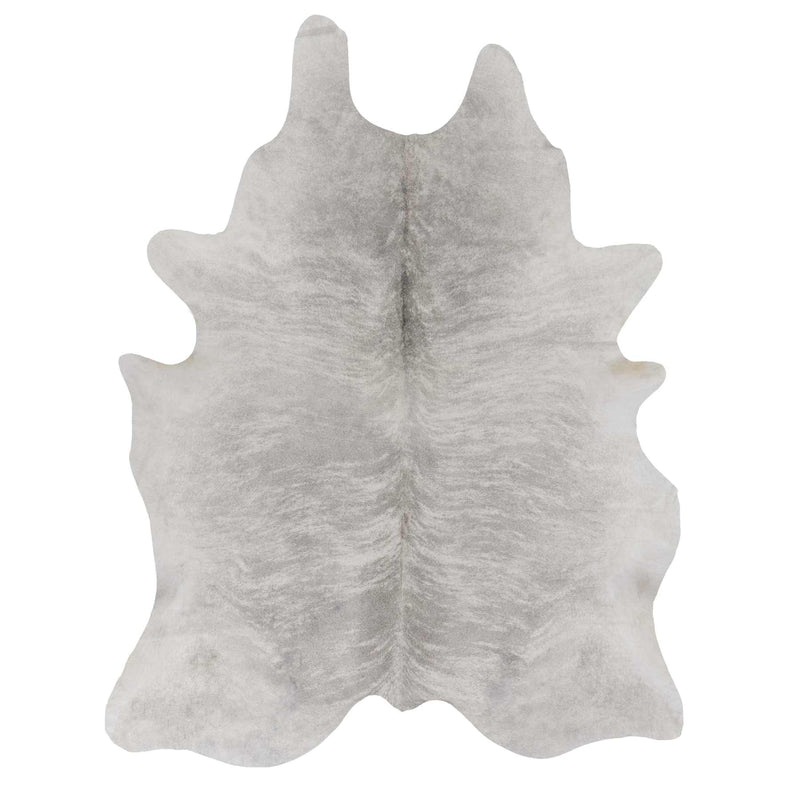 Light Grey Brindle Cowhide Rug