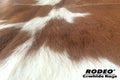 Brown and White Cowhide Rug - Rodeo Cowhide Rugs