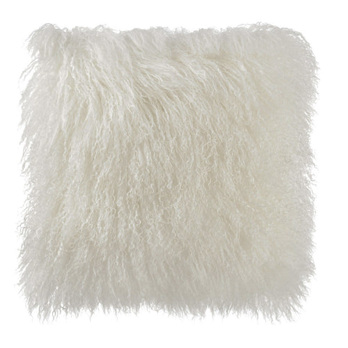 Tibetan Sheep Skin Pillow Cover - Rodeo Cowhide Rugs