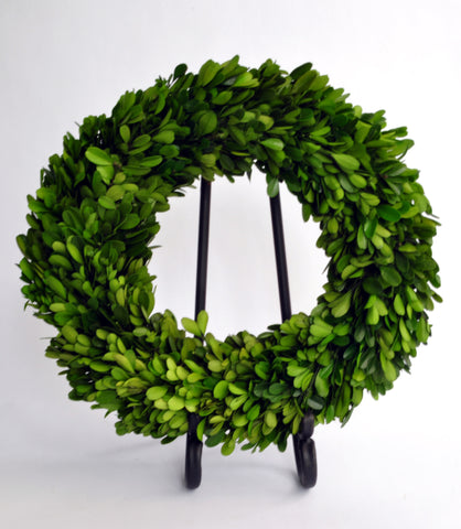 Preserved Boxwood Wreath - 12""