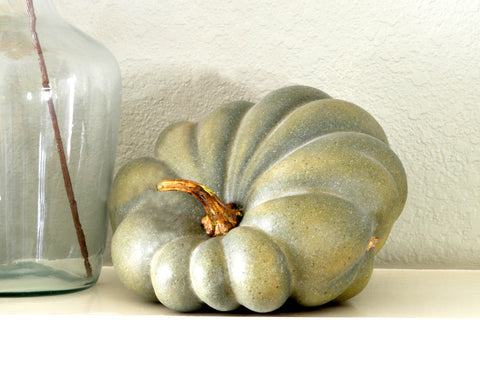 "Green ""Imperfectly Perfect"" Pumpkin"