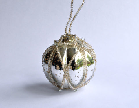 Mercury Glass Ornament