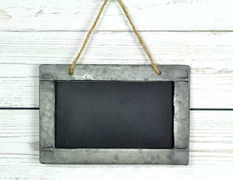 Hanging Blackboard Sign