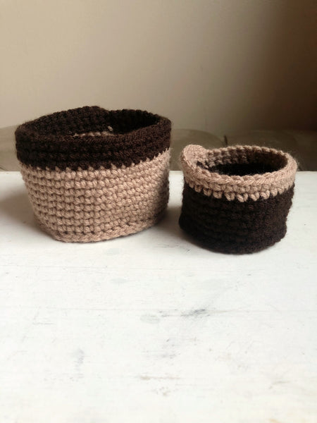 Crochet Nesting Cups - Made to Order by Chez Crochet