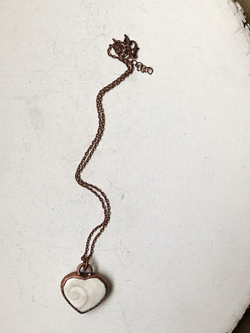 Eye of Shiva Heart Necklace (5/17 Update)