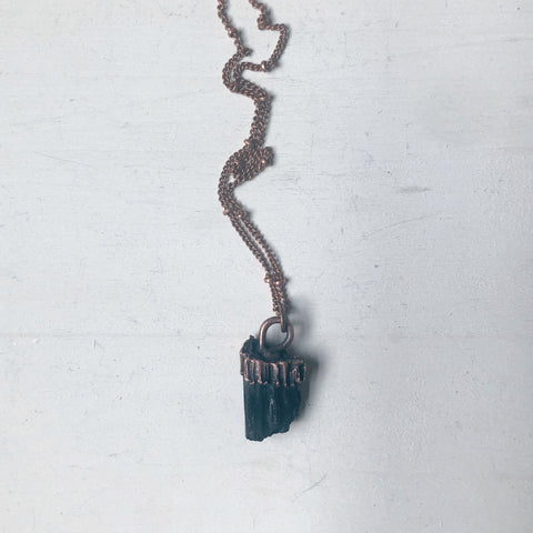 Black Tourmaline Necklace #1