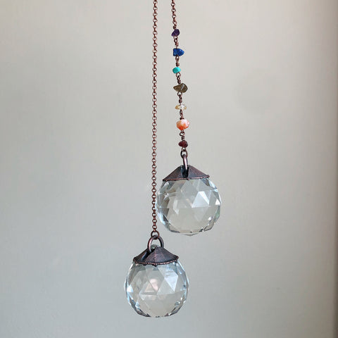 Chakra Sun Catcher (X-Large) - Made to Order