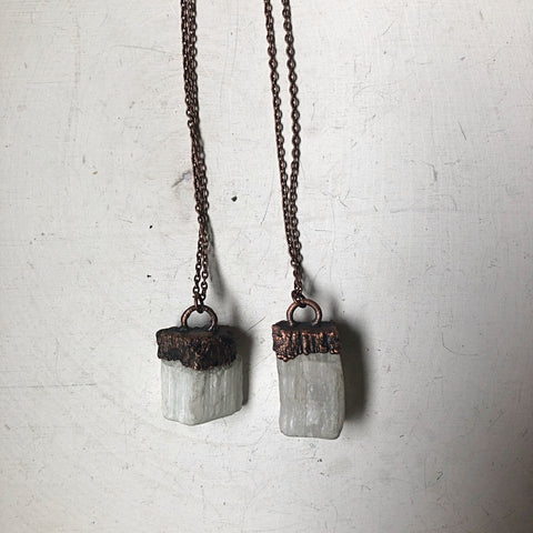 Selenite Necklace (Small) - Made to Order