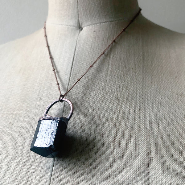 Black Tourmaline Necklace #4