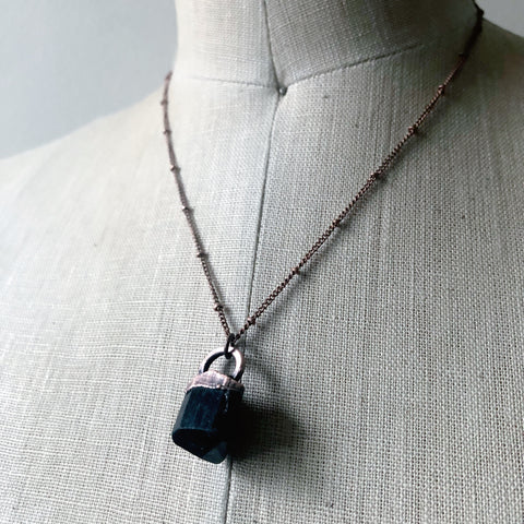 Black Tourmaline Necklace #3