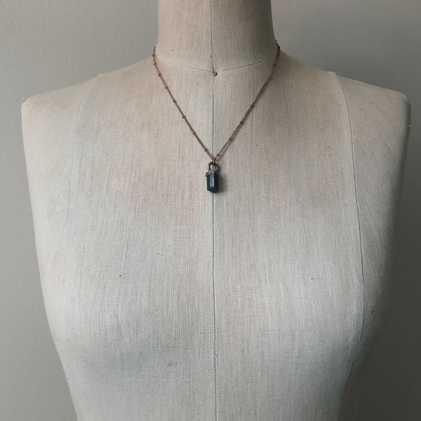 Dravite (Brown Tourmaline) Necklace #2