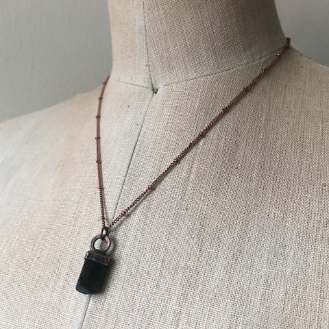 Dravite (Brown Tourmaline) Necklace #3