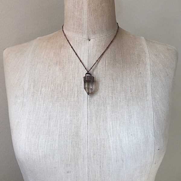 Polished Golden Rutilated Quartz Point - Summer Solstice Collection2019