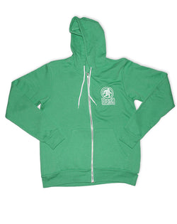 Everest, Full Zip Fleece Hoodie, Kelly Green