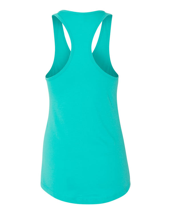 Everest, Racerback Tank, Tahiti Blue