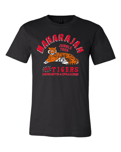 Maharajah Jungle Trek, Crew Neck Tee, Black