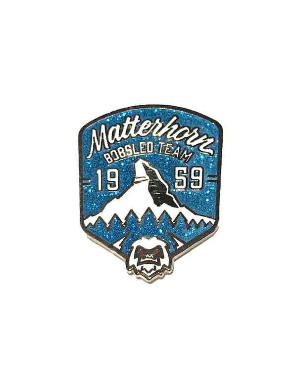 SALE Matterhorn Bobsled Team Pin