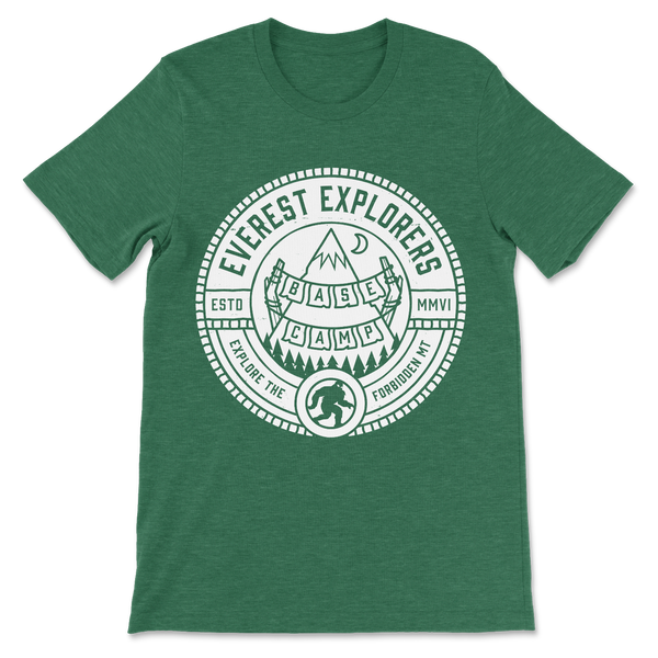 Everest, Crew Neck Tee, Green