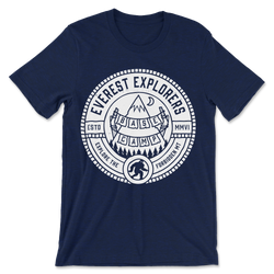 Everest, Crew Neck Tee, Navy