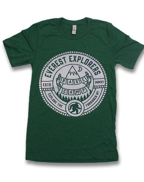 Everest, Kids Crew Neck Tee, Forest