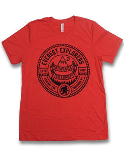 Everest, Kids Crew Neck Tee, Red