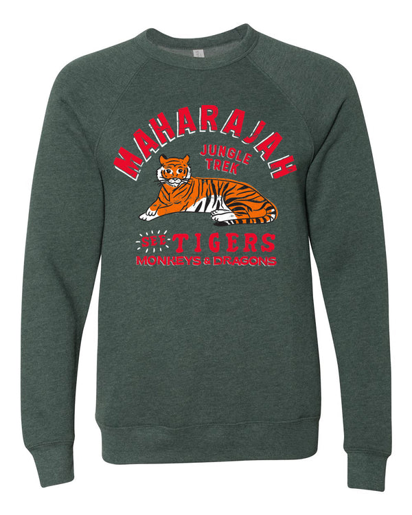 Maharajah Jungle Trek, Fleece Sweater, Forest Green