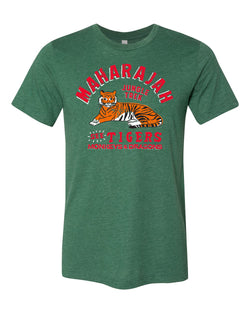 Maharajah Jungle Trek, Crew Neck Tee, Forest Green