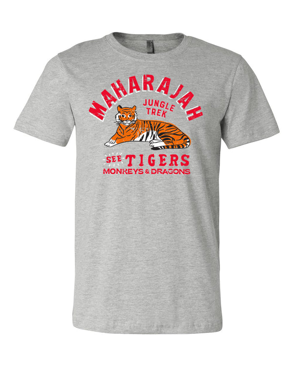 Maharajah Jungle Trek, Crew Neck Tee, Temple Grey