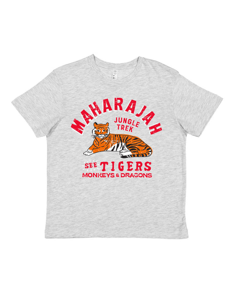 Maharajah Jungle Trek, KIDS Crew Neck Tee, Temple Grey