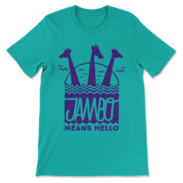 Jambo, Crew Neck Tee, Sea Green