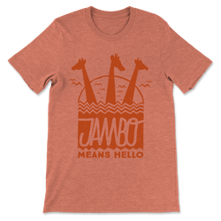 Jambo, Crew Neck Tee, Sunset