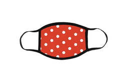 KIDS Minnie Polka Dot Face Mask