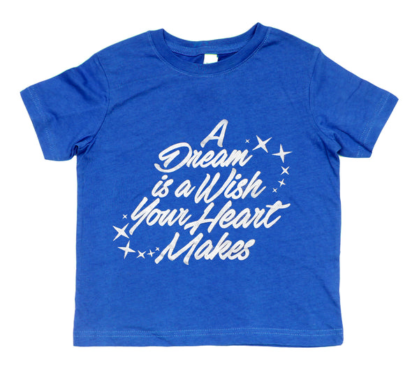 Dream Is A Wish, Kids Crew Neck Tee