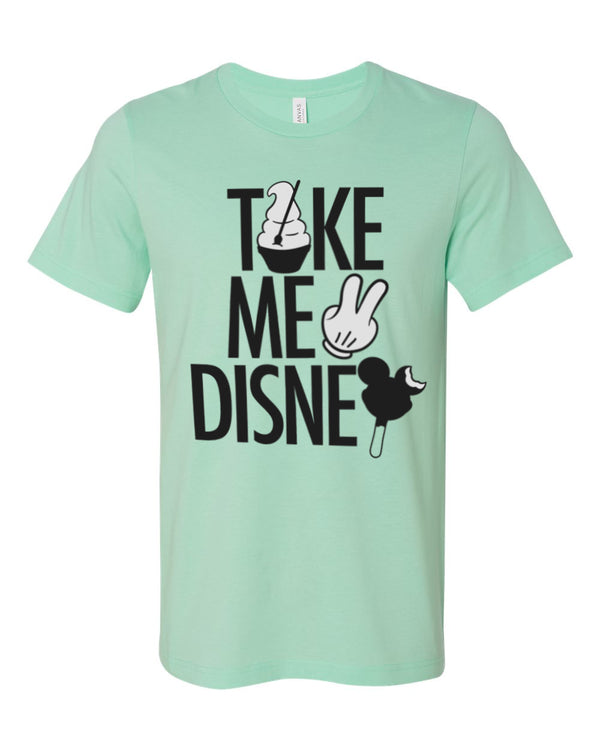 Take Me 2, Crew Neck Tee, Mint