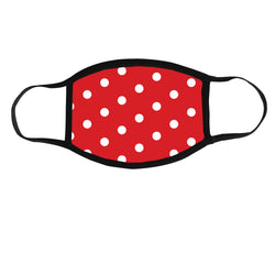 Minnie Polka Dot, Adult Face Mask