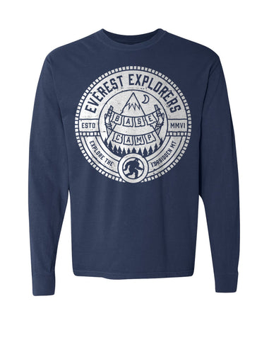 Everest, Long Sleeve Tee, Navy