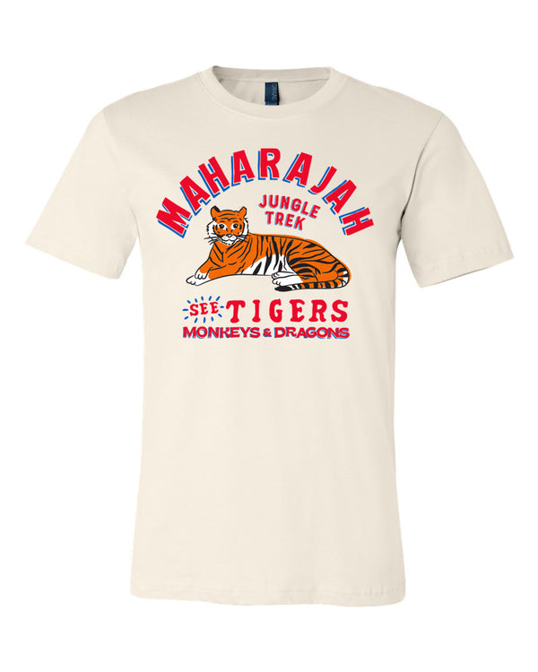 Maharajah Jungle Trek, Crew Neck Tee, Cream Soda