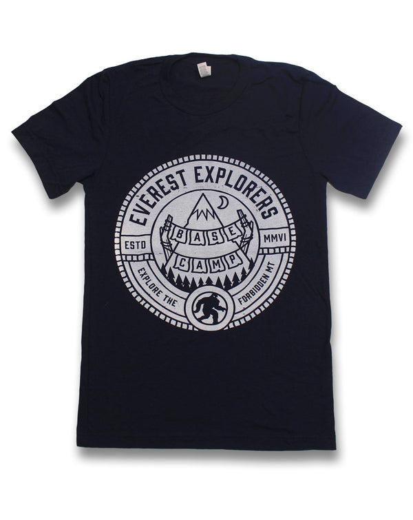 Everest, Kids Crew Neck Tee, Navy