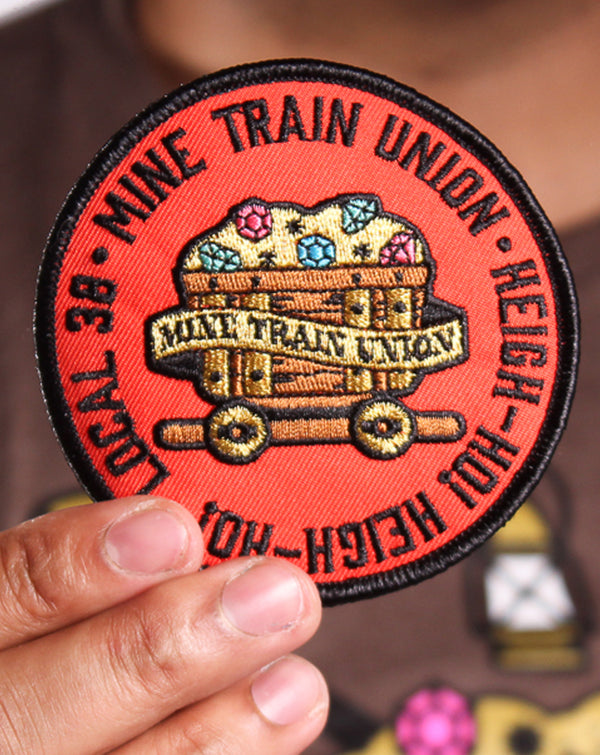 SALE, Mine Train Union Patch