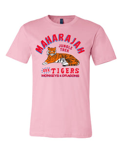Maharajah Jungle Trek, Crew Neck Tee, Soft Pink