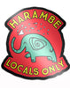 Harambe Locals Only Sticker