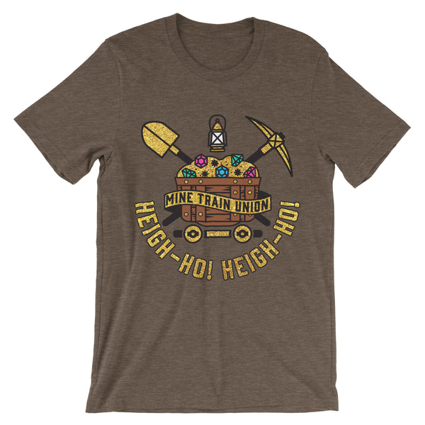 Mine Train Union, Crew Neck Tee, Topaz