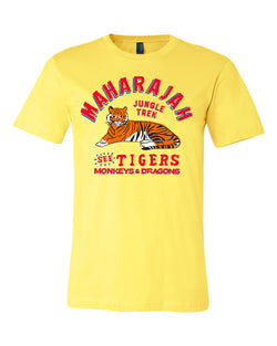 Maharajah Jungle Trek, Crew Neck Tee, Urgent Yellow