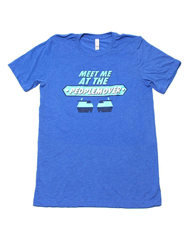 People Mover, Crew Neck Tee, Future Blue