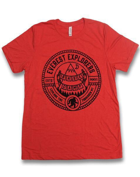 Everest, Crew Neck Tee, Red