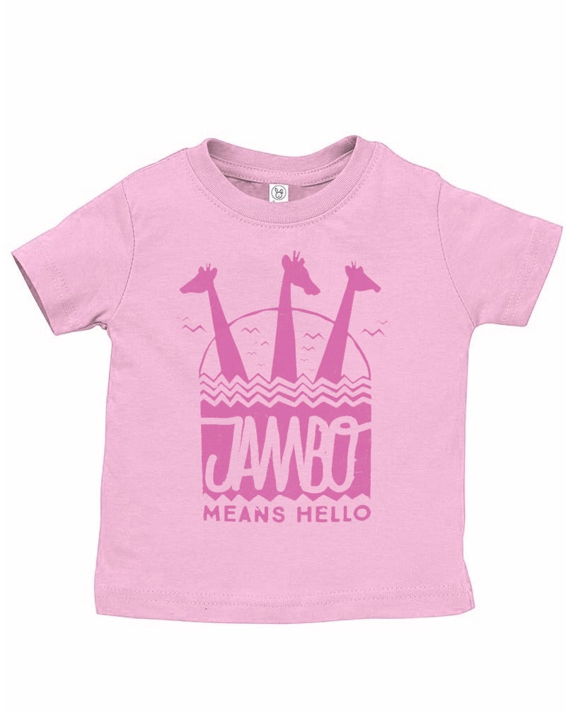 Jambo, Kids Crew Neck Tee