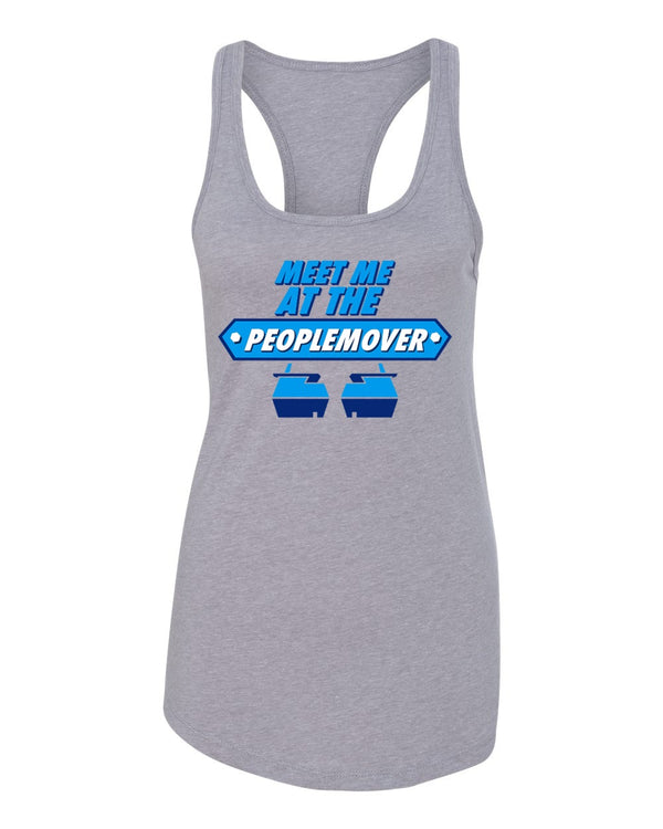 SALE, People Mover, Flowy Racerback Tank, Grey