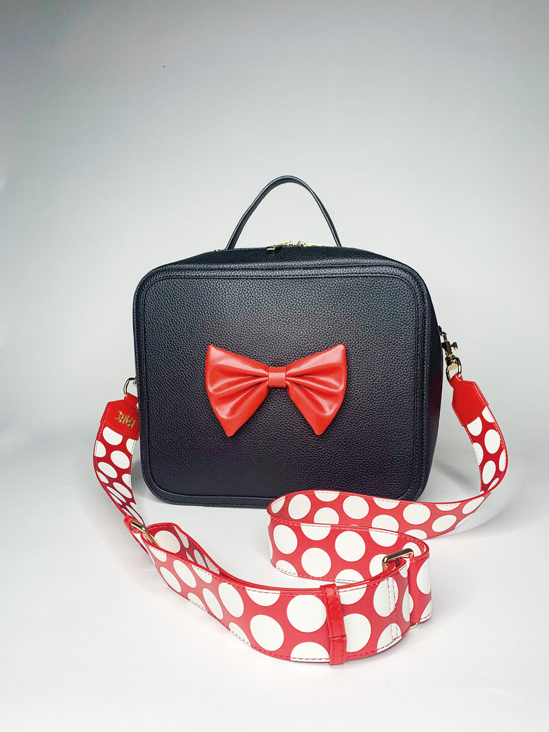 PARC Pack Crossbody Strap, Red Polka Dot