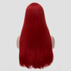 Natural red long straight wig without fringe by Smart Wigs Brisbane