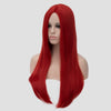 Natural red long straight wig without fringe by Smart Wigs Brisbane QLD